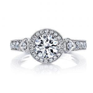 Halo Engagement RingStyle #: MARS 26170