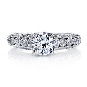 Vintage Engagement RingStyle #: MARS 26176