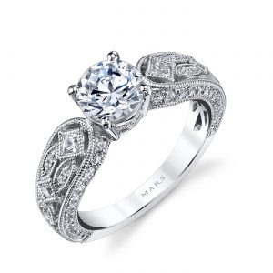 Vintage Engagement RingStyle #: MARS 26177