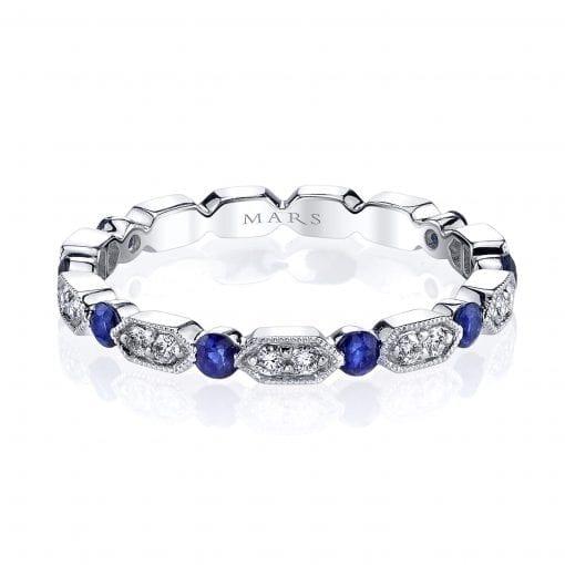 Diamond & Saphire Ring Style #: MARS-26182WGBS|Diamond & Saphire Ring Style #: MARS-26182WGBS|Diamond & Saphire Ring Style #: MARS-26182WGBS|Diamond & Saphire Ring Style #: MARS-26182WGBS