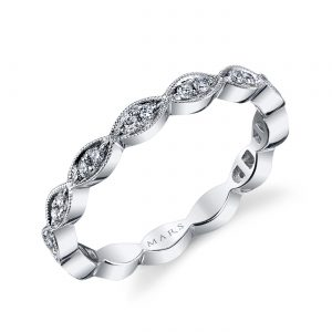 Diamond Ring - Stackable  Style #: MARS-26183