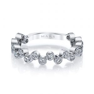 Diamond Ring - Stackable  Style #: MARS-26202WG