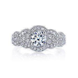 Vintage Engagement RingStyle #: MARS 26206