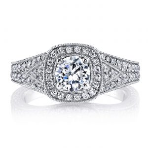 Vintage Engagement RingStyle #: MARS 26207