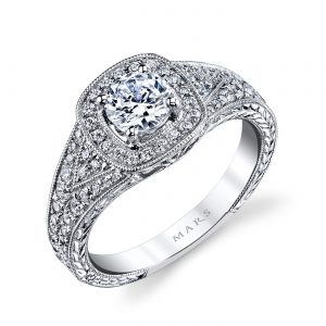 Vintage Engagement RingStyle #: MARS 26207