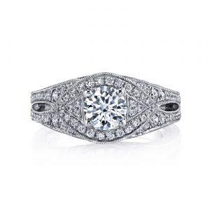 Vintage Engagement RingStyle #: MARS 26208