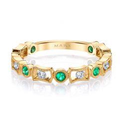 Diamond & Emerald Ring Style #: MARS-26211YGEM Diamond & Emerald Ring Style #: MARS-26211YGEM Diamond & Emerald Ring Style #: MARS-26211YGEM Diamond & Emerald Ring Style #: MARS-26211YGEM