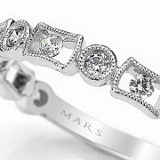 Diamond Ring - Stackable <br> Style #: MARS-26211