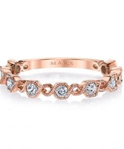 Diamond Ring - Stackable  Style #: MARS-26212