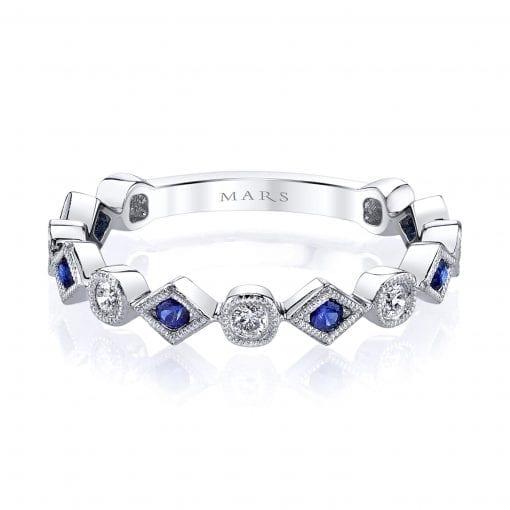 Diamond & Saphire Ring Style #: MARS-26213WGBS|Diamond & Saphire Ring Style #: MARS-26213WGBS|Diamond & Saphire Ring Style #: MARS-26213WGBS|Diamond & Saphire Ring Style #: MARS-26213WGBS
