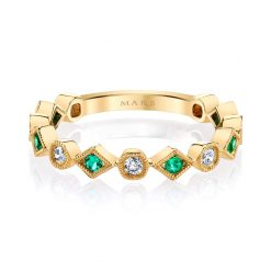Diamond & Emerald Ring<br> Style #: MARS-26213YGEM|Diamond & Emerald Ring<br> Style #: MARS-26213YGEM|Diamond & Emerald Ring<br> Style #: MARS-26213YGEM|Diamond & Emerald Ring<br> Style #: MARS-26213YGEM