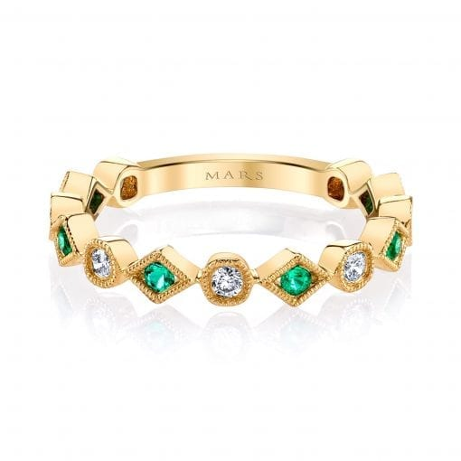 Diamond & Emerald Ring Style #: MARS-26213YGEM|Diamond & Emerald Ring Style #: MARS-26213YGEM|Diamond & Emerald Ring Style #: MARS-26213YGEM|Diamond & Emerald Ring Style #: MARS-26213YGEM