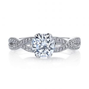 Classic Engagement RingStyle #: MARS 26215
