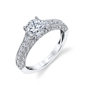 Classic Engagement RingStyle #: MARS 26239