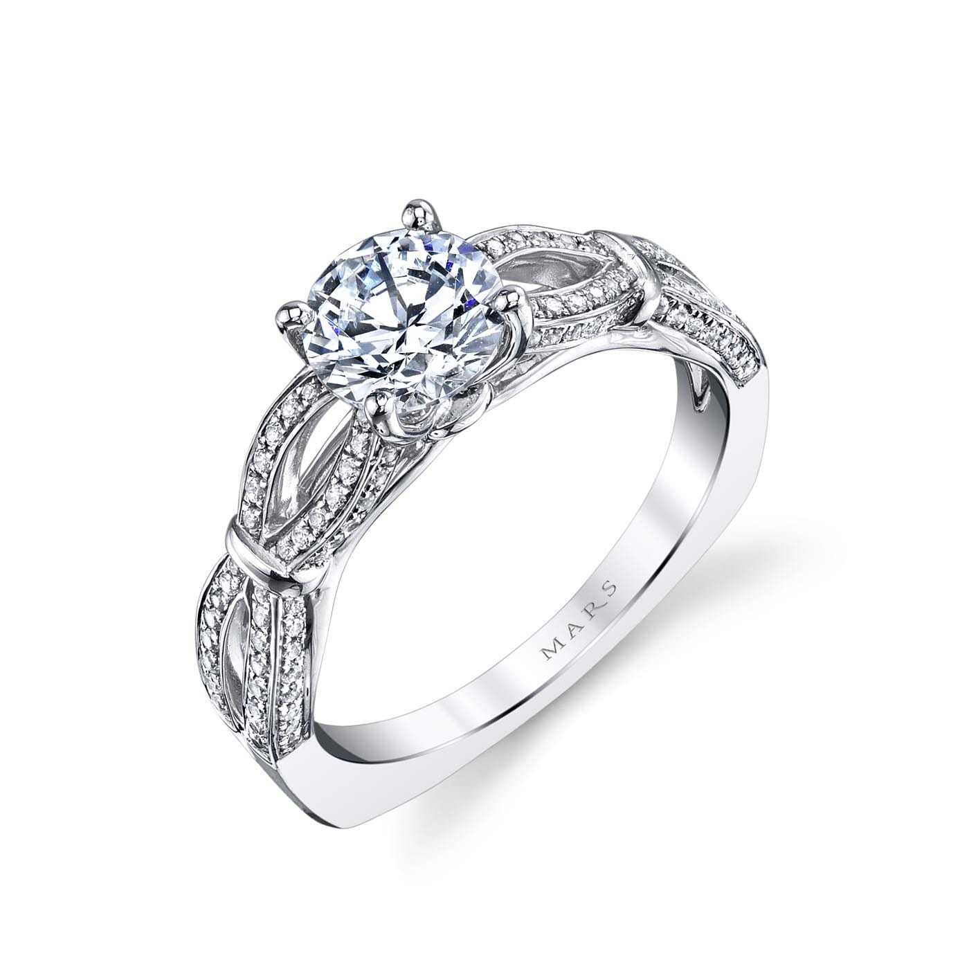 Classic Engagement RingStyle #: MARS 26244