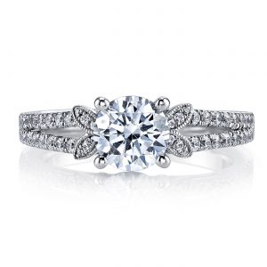 Floral Engagement RingStyle #: MARS 26246