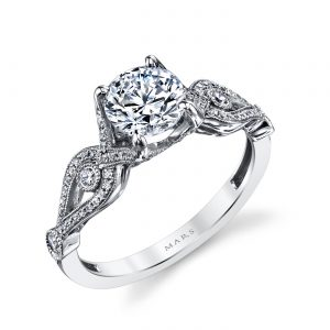 Vintage Engagement RingStyle #: MARS 26249