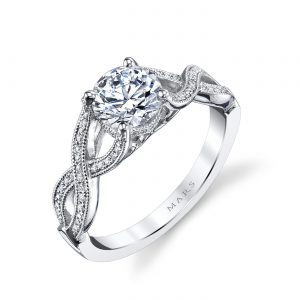 Infinity Engagement RingStyle #: MARS 26250