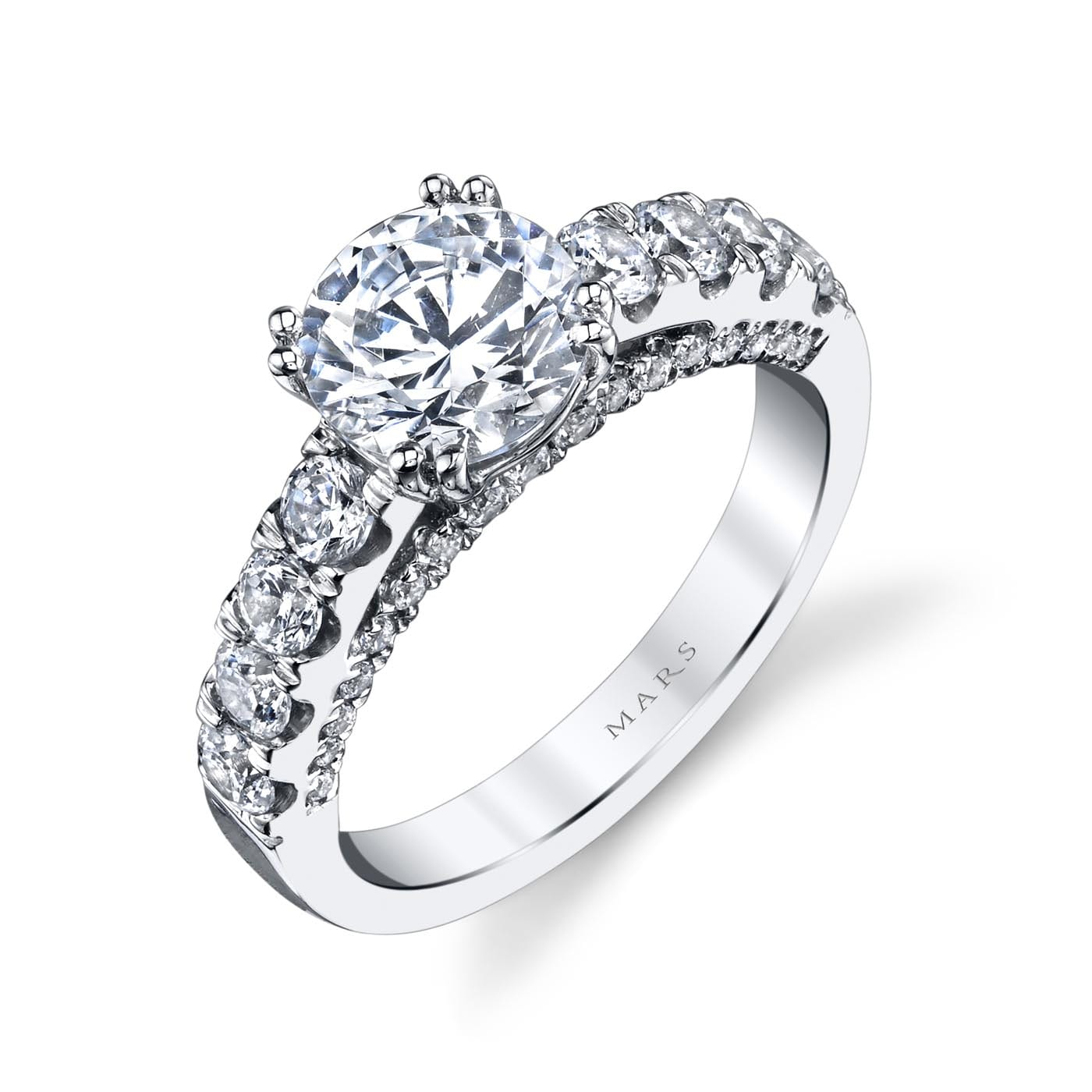 Classic Engagement RingStyle #: MARS 26253
