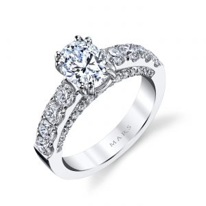 Classic Engagement RingStyle #: MARS 26254