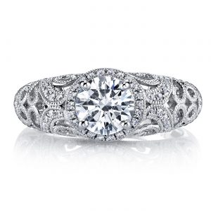 Vintage Engagement RingStyle #: MARS 26258