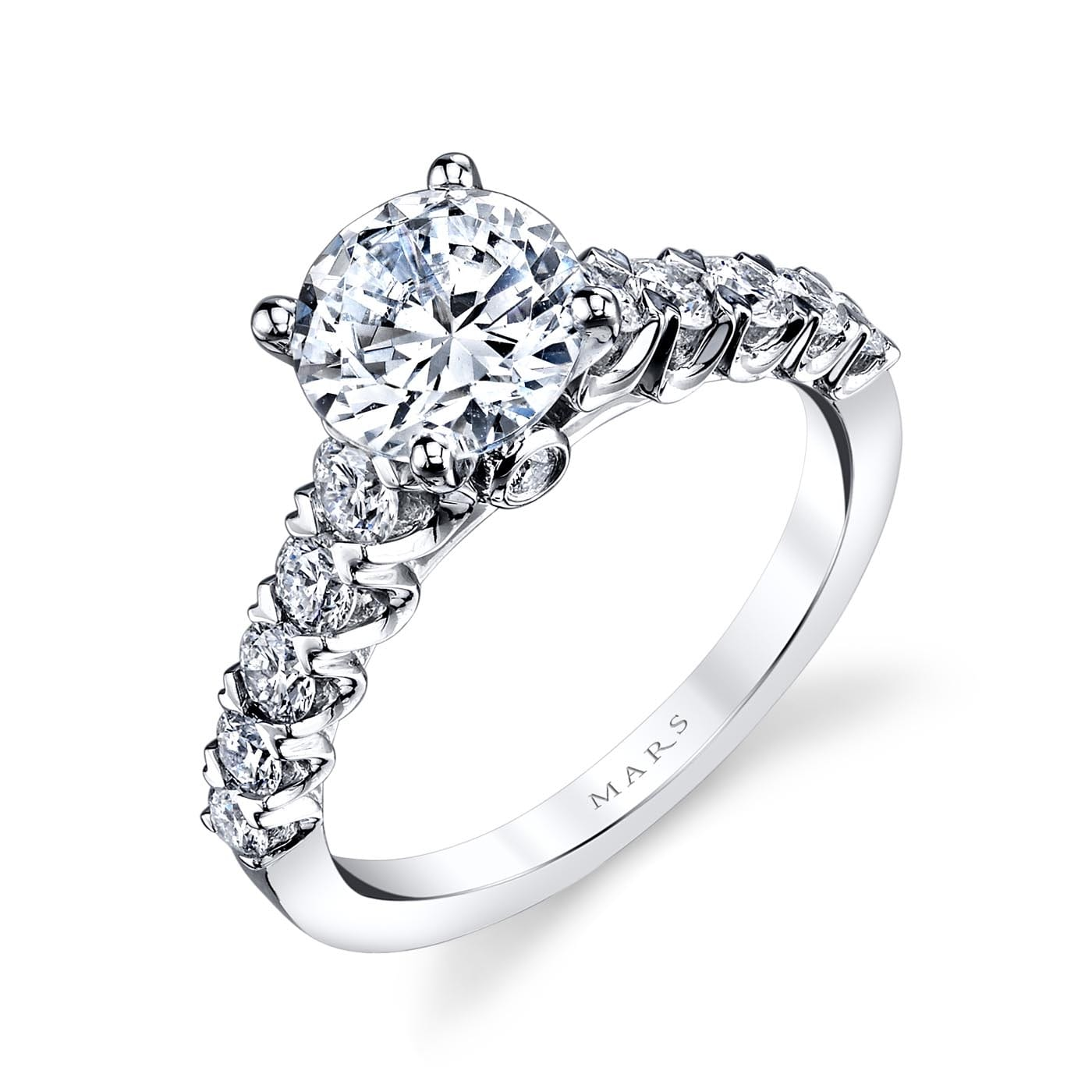 Classic Engagement RingStyle #: MARS 26344