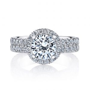 Classic Engagement RingStyle #: MARS 26356