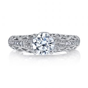 Vintage Engagement RingStyle #: MARS 26431