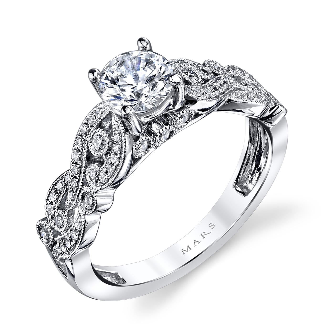 Floral Engagement RingStyle #: MARS 26440