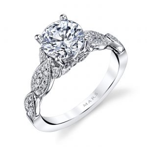Floral Engagement RingStyle #: MARS 26441