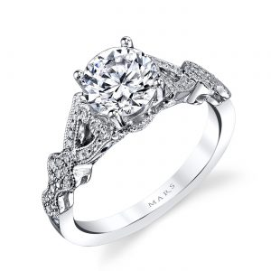 Floral Engagement RingStyle #: MARS 26442