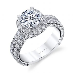 Classic Engagement RingStyle #: MARS 26452