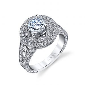Classic Engagement RingStyle #: MARS 26458