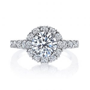 Classic Engagement RingStyle #: MARS 26494