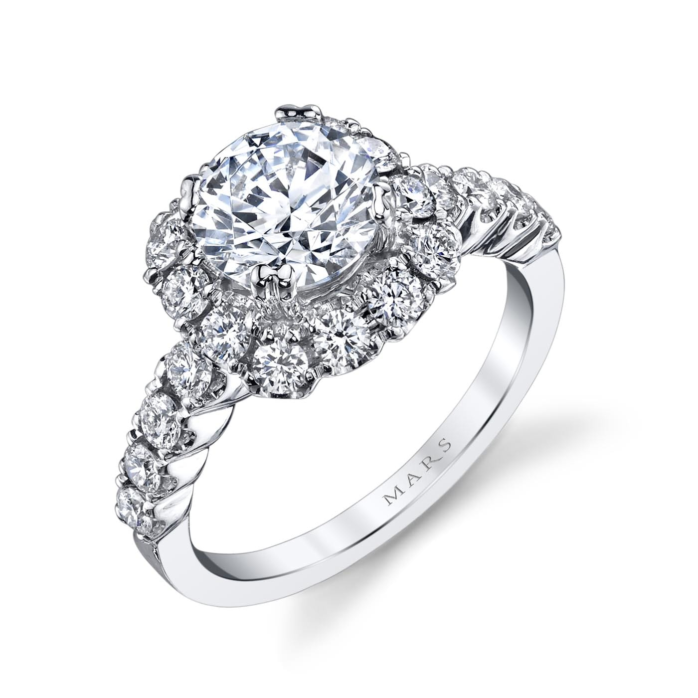 Classic Engagement RingStyle #: MARS 26496