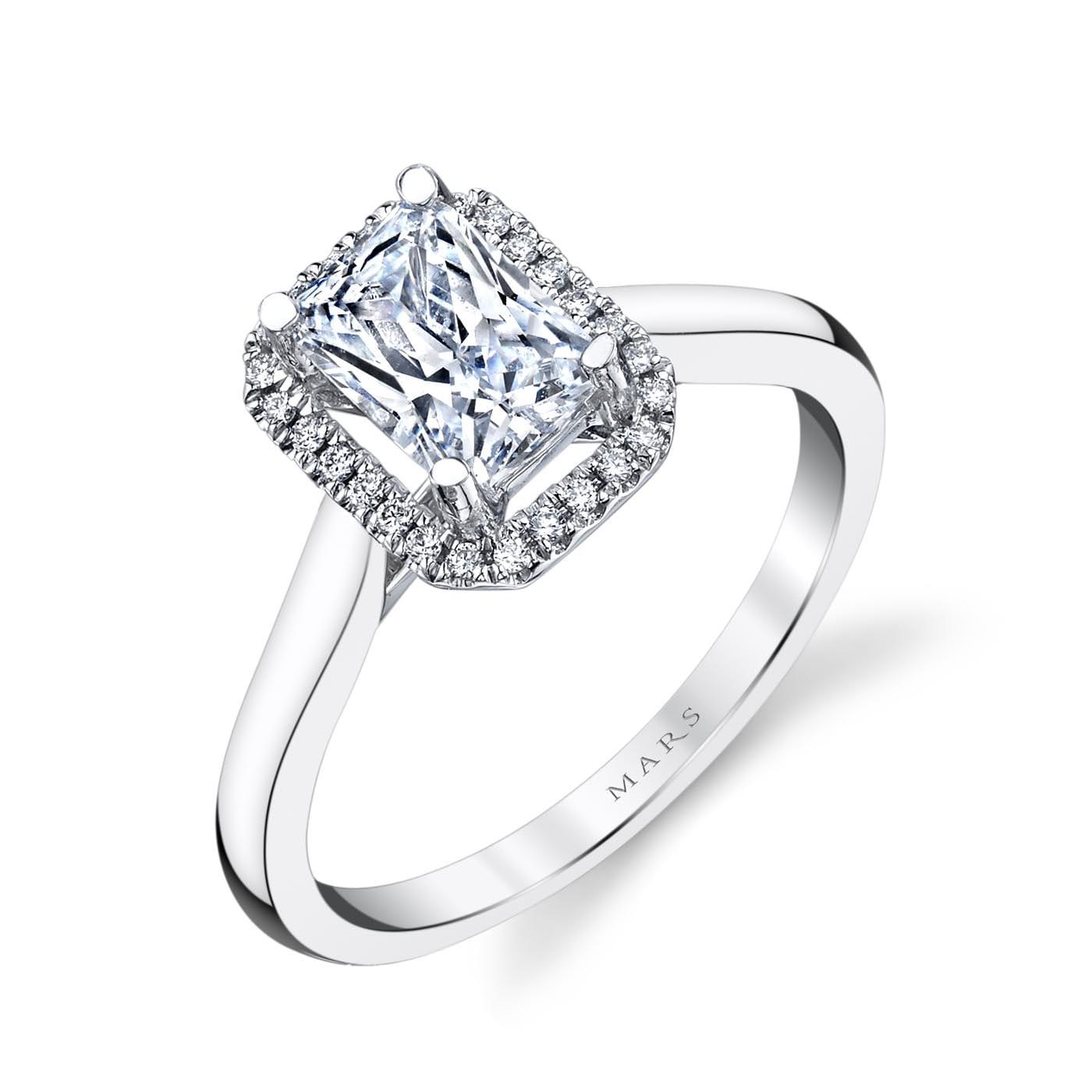 Halo Engagement RingStyle #: MARS 26498