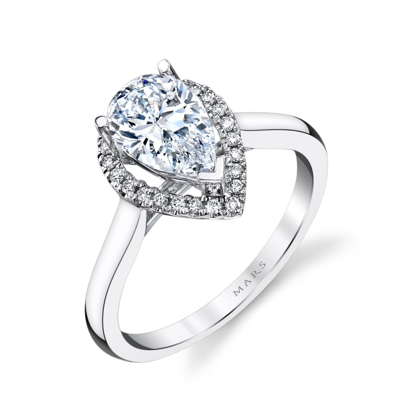 Classic Engagement RingStyle #: MARS 26499
