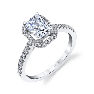 Classic Engagement RingStyle #: MARS 26500