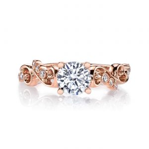Floral Engagement RingStyle #: MARS 26506