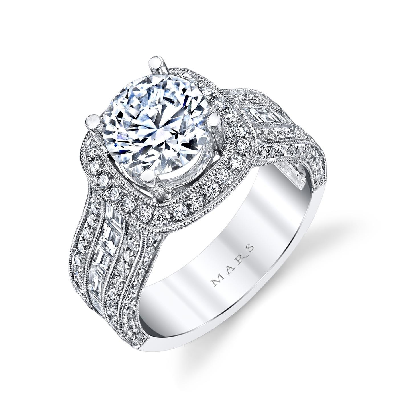 Halo Engagement RingStyle #: MARS 26508