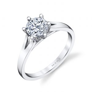 Classic Engagement RingStyle #: MARS 26511