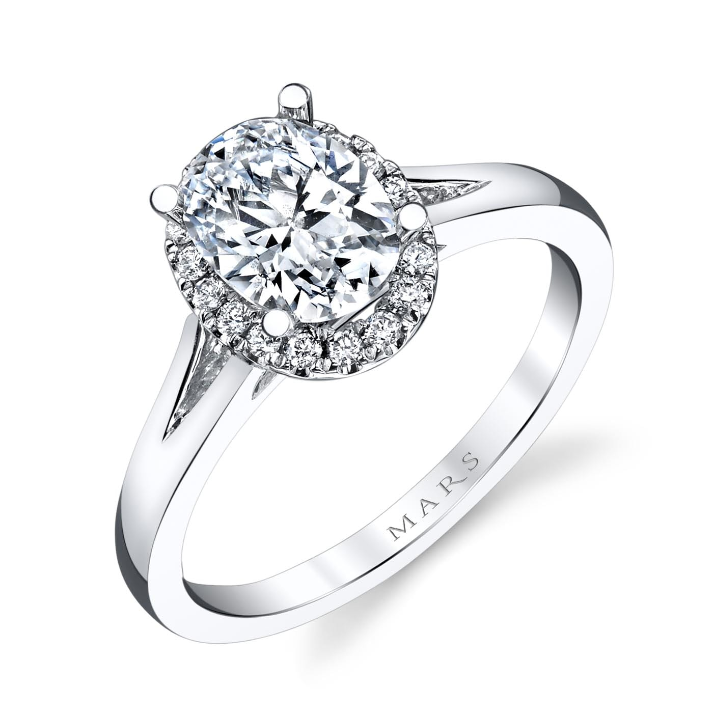 Classic Engagement RingStyle #: MARS 26513