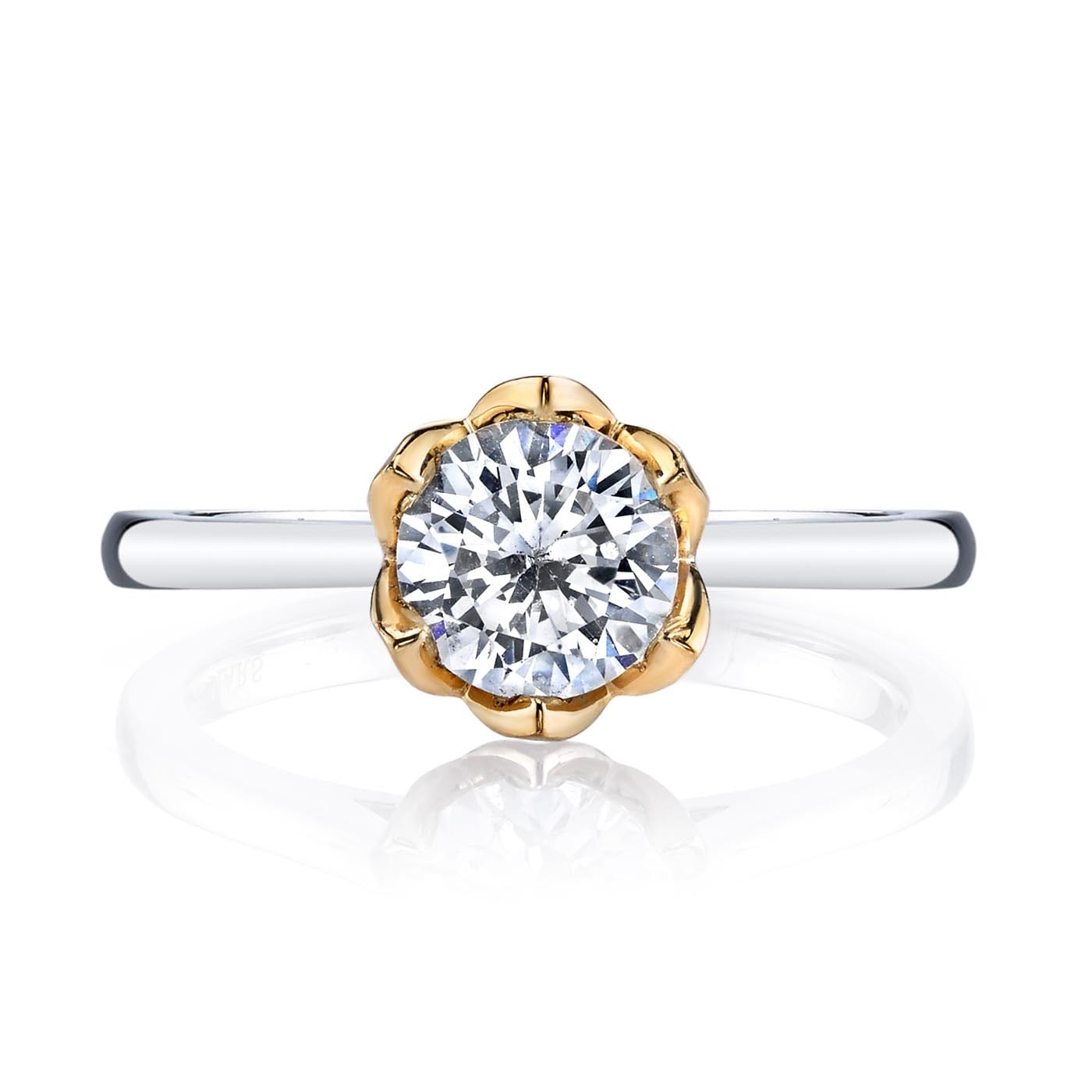 Solitaire Engagement RingStyle #: MARS 26515
