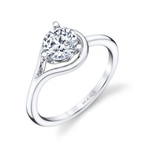 Solitaire Engagement RingStyle #: MARS 26519