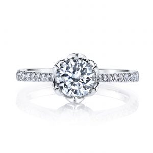 Floral Engagement RingStyle #: MARS 26530
