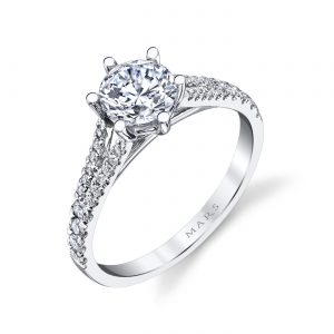 Classic Engagement RingStyle #: MARS 26532