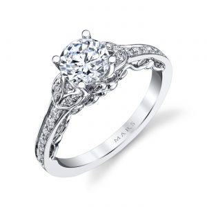 Floral Engagement RingStyle #: MARS 26547