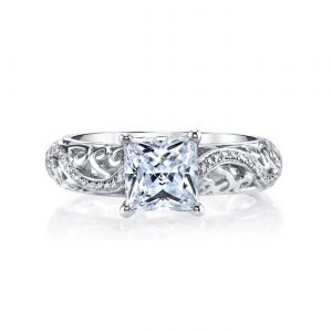 Vintage Engagement RingStyle #: MARS 26561