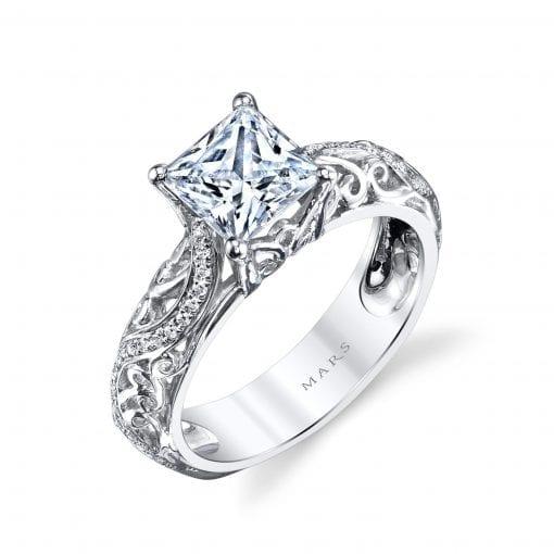 Vintage Engagement RingStyle #: MARS 26561