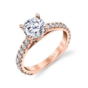 Classic Engagement RingStyle #: MARS 26562